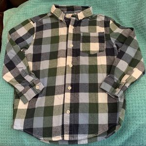 2/$20 Gymboree Boys Size S 5 6 Button Up Shirt